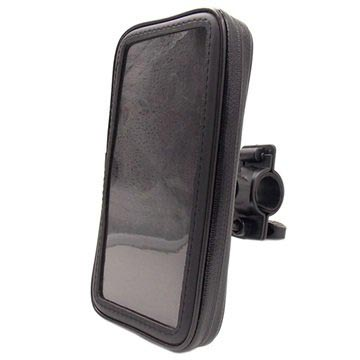 "Universal Water-resistant Bike Holder - 5.5"" - Black"