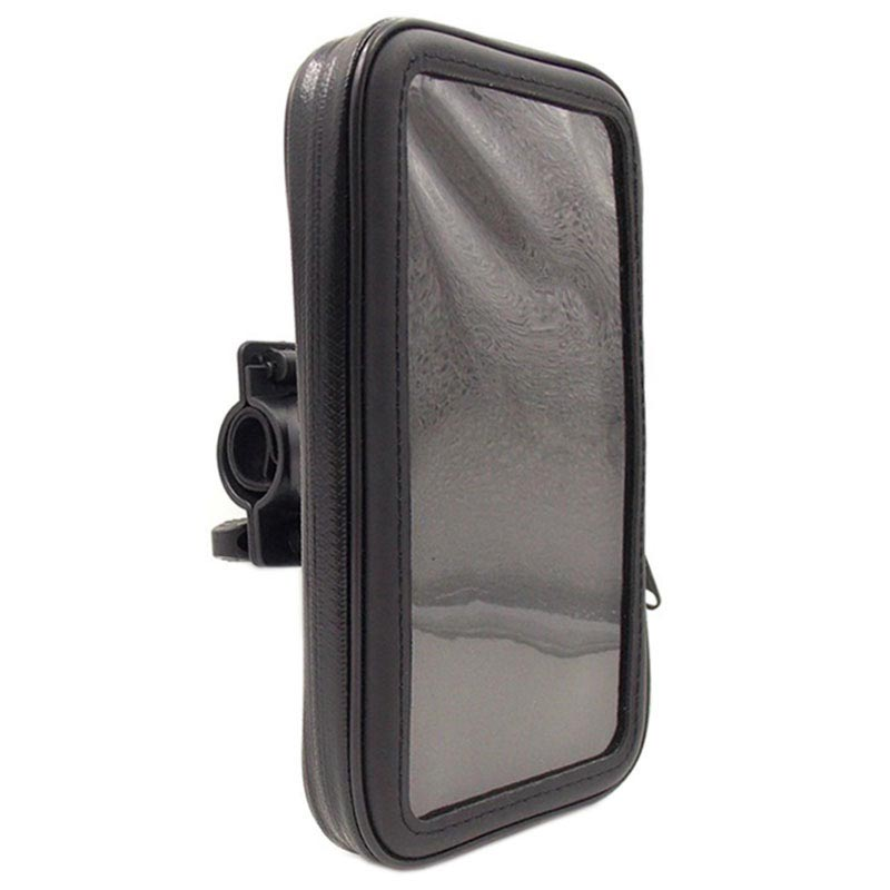 "Universal Water-resistant Bike Holder - 6.3"" - Black"