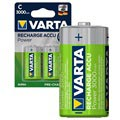 Varta Power Ready2Use Rechargeable C/HR14 Batteries - 3000mAh - 1x2