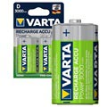 Varta Power Ready2Use Rechargeable D/HR20 Batteries - 3000mAh - 1x2