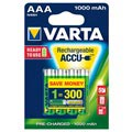 Varta Ready2Use Rechargeable AAA Batteries - 1000mAh