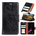 Huawei Honor 9 Lite Flip case with Card Slots - Black