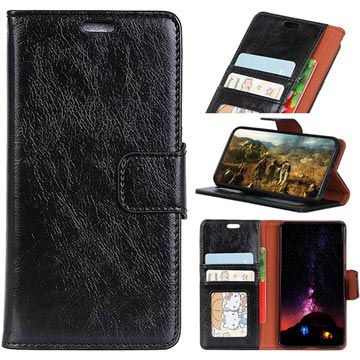 Samsung Galaxy S9 Wallet Case with Kickstand Feature - Black