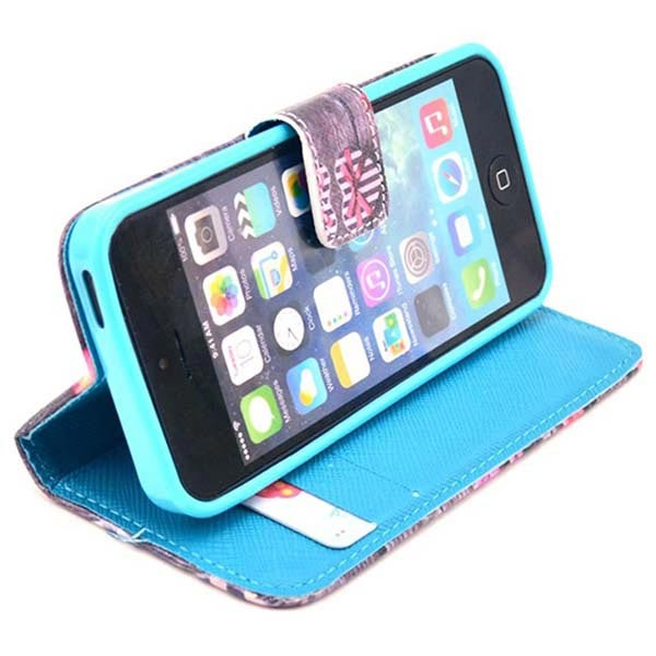 iPhone 5 / 5S / SE Wallet Case - Love