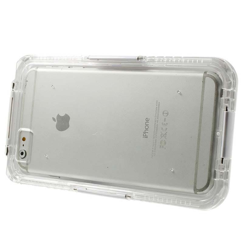 iPhone 6 Plus / 6S Plus Waterproof Case - White