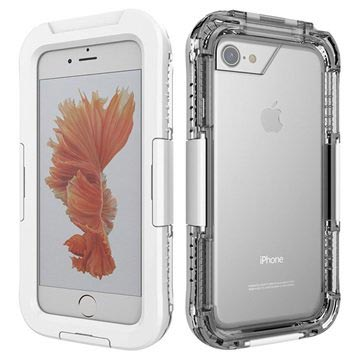 iPhone 7 / iPhone 8 Waterproof Case - White