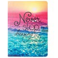 iPad 9.7 2017/2018 Wonder Series Folio Case - Never Stop Dreaming