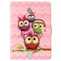 iPad 9.7 2017/2018 Wonder Series Folio Case - Owls