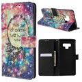 Samsung Galaxy Note9 Wallet Case - Wonder Series - Dreamcatcher
