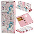 Samsung Galaxy S9 Wallet Case - Wonder Series - Unicorns