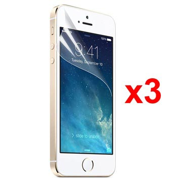 iPhone 5 / 5S / SE Xqisit Screen Protector - 3 Pcs.