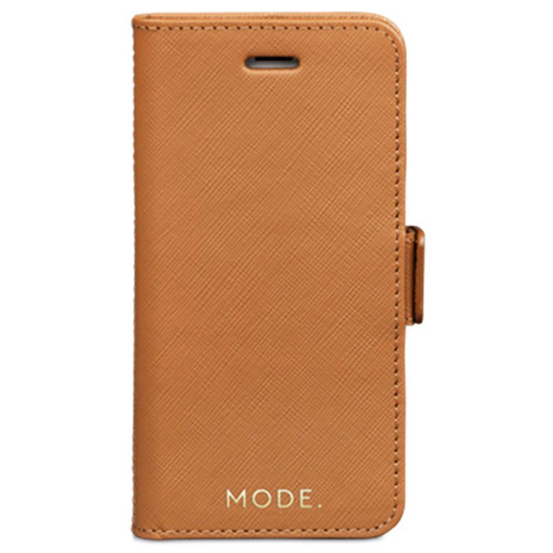 iPhone 6/6S/7/8 dbramante1928 New York Wallet Leather Case - Light Brown