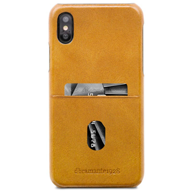iPhone X / iPhone XS dbramante1928 Tune CC Leather Cover