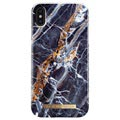iDeal of Sweden Fashion iPhone XS Max Case - Midnight Blue Marble
