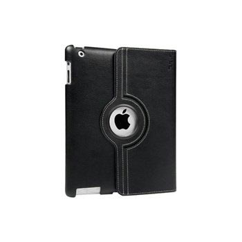 iPad 3, iPad 4 Targus Versavu Rotating Stand PU Leather Case - Black
