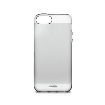 iPhone 5 / 5S / SE Puro Click-On Cover - Transparent
