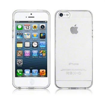 iPhone 5 / 5S / SE Silicone Case - Frost White