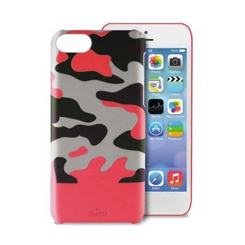 iPhone 5C Puro Camou Cover - Pink
