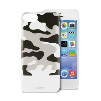 iPhone 5C Puro Camou Cover - White