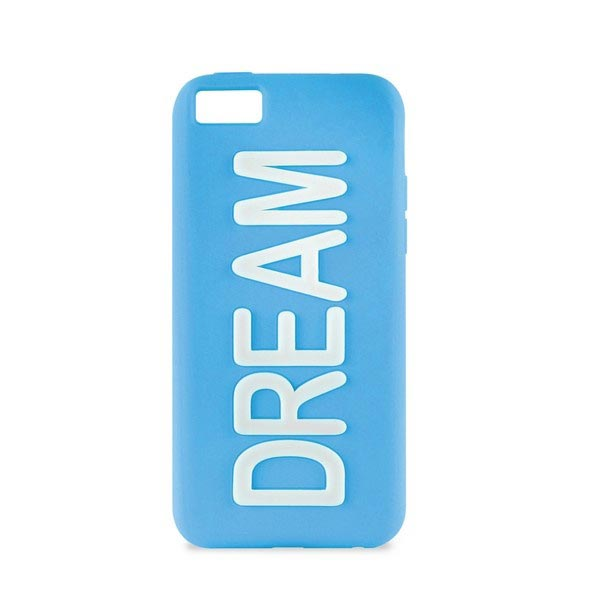iPhone 5C Puro Dream Silicone Case - Blue