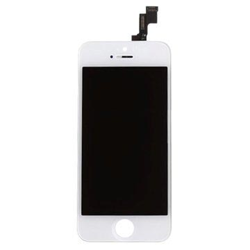 iPhone 5S LCD-Display - White - Grade A