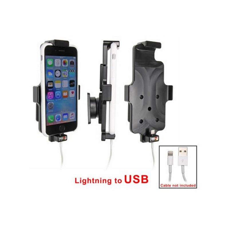iPhone 6S / 7 / 8 Holder for Cable Attachment - Brodit
