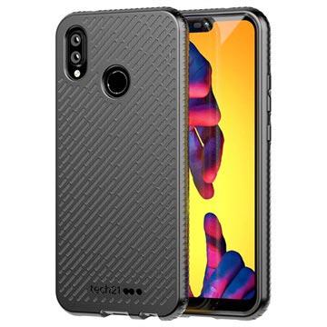 sale retailer aec32 7d8c9 tech21 Evo Shell Huawei P20 Lite Protective Case - Black