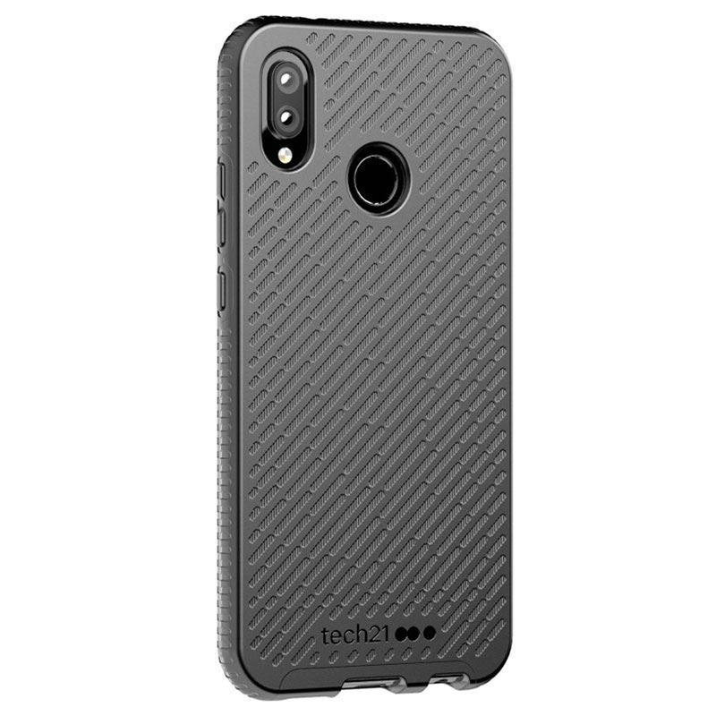 sale retailer 93ee3 7d732 tech21 Evo Shell Huawei P20 Lite Protective Case - Black