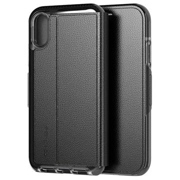 tech21 Evo iPhone XR Wallet Case T21-6110 - Black