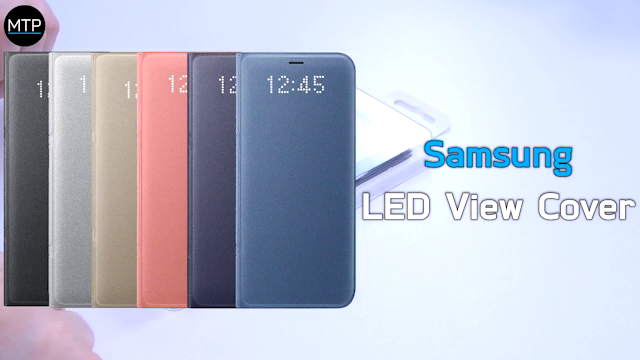 cover samsung s8 led view